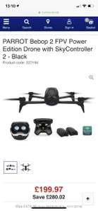 Parrot Bebop 2 Power Edition with Skycontroller 2 pack £199.97 Currys