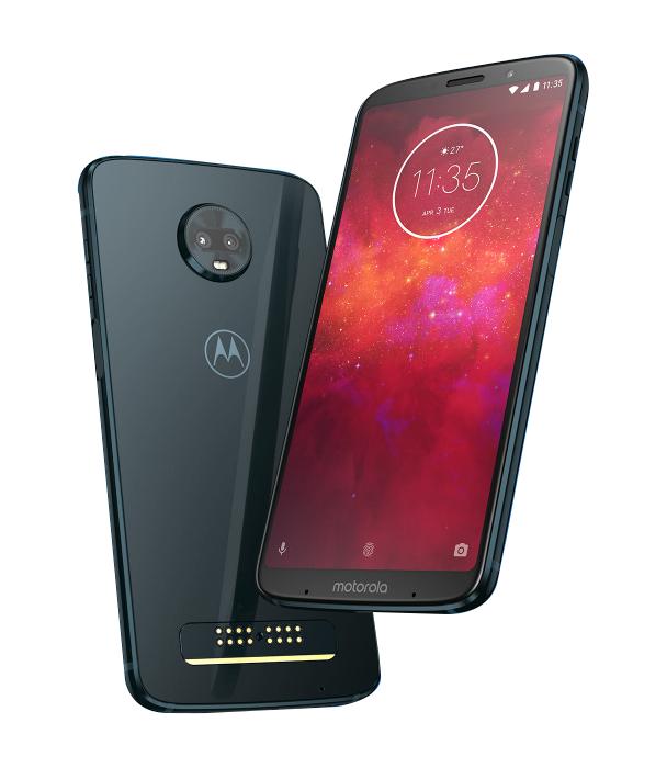 Motorola Z3 Play mobile phone + Battery mod + JBL Speaker mod, free delivery @ Lenovo for £329.99