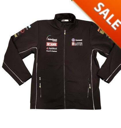 Kawasaki BSB Softshell Jacket £29.99 @ M&P Direct