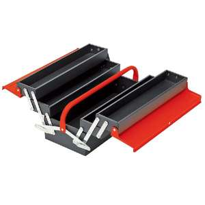 Draper 4 Tray Cantilever Tool Box £12.99 (with code) @ Euro Car Parts