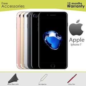 Seller Refurbished Apple iPhone 7 32GB 128GB 256GB All Colours Unlocked to All Network Smartphone - £224.99 @ eBay / hitechelectronicsuk