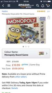c469dff3b Despicable me 2 monopoly now £10.99 prime   £15.48 non prime Sold by  Mytoyfactory