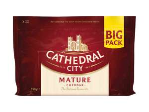Cathedral City Mature Cheddar Cheese 550g, £2.99 at Lidl
