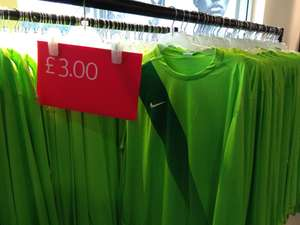 NIKE Dri-Fit / Stay Cool Mens Football tops - £3 (was £25) + lots items 70% Off (see pics) @ Nike Outlet Castleford