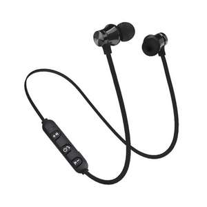 Magnetic Bluetooth Sports Earphones - Black £1.63 delivered using code at Geekbuying
