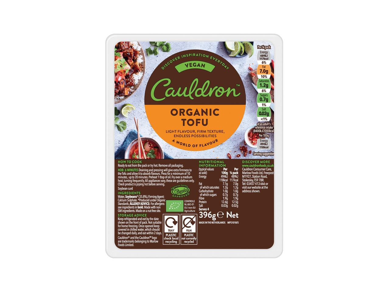 Cauldron Organic Tofu £1.49 @ Lidl