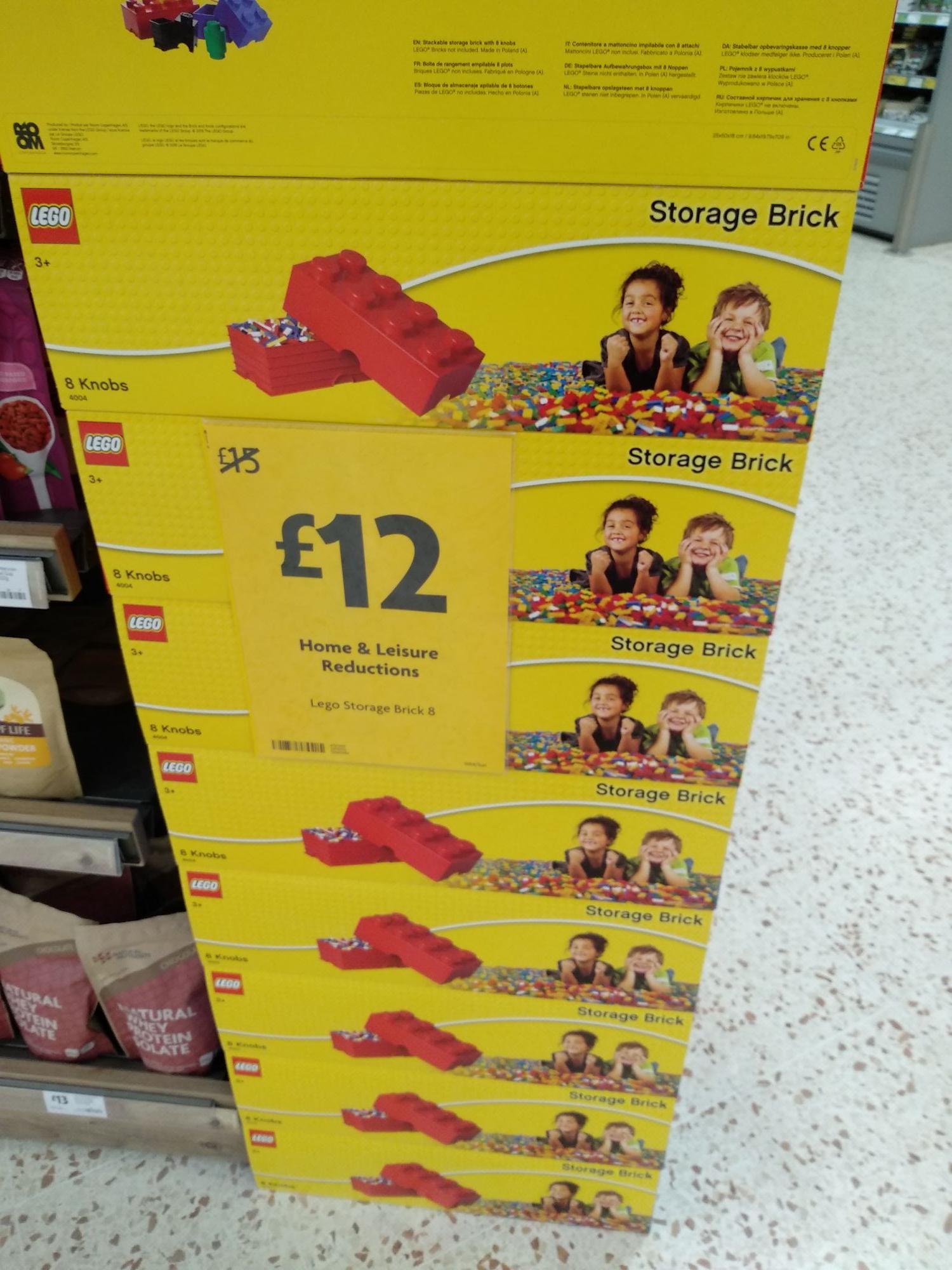 Lego storage brick 8 knobs - £12 instore @ Morrison's