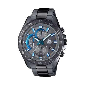 Casio Edifice Men's IP Stainless Steel Grey Bracelet Watch - £99 @ Ernest Jones