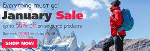 Loads of bargains in the sale! @ Outdoor Camping Direct