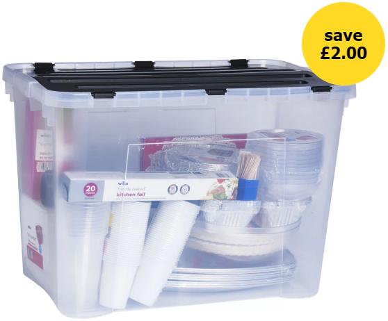 60L Heidrun Dragon Storage Box - £4 + Free C&C @ Wilko