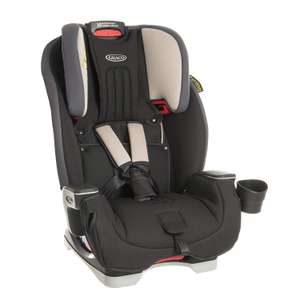 Graco Milestone All-in-One Car Seat, Group 0+/1/2/3, Aluminium @ Amazon  Deal Of The Day £104.90 Delivered