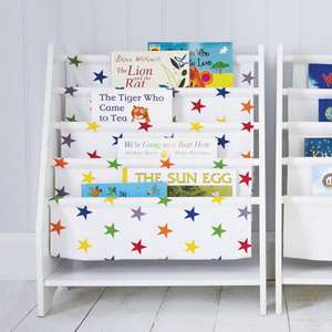 Great Little Trading Company rainbow star sling bookcase £39 reduced from £78 - up to 50% off winter sale!