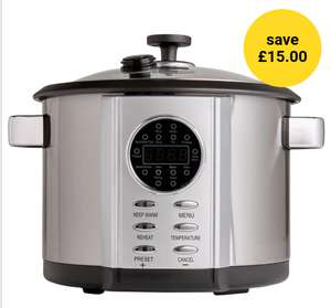 Wilko Multi Cooker 5L Now £25  was £40 @ Wilko