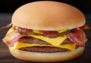 It's Back!  McDonalds Bacon Double Cheeseburger £1.99 @ McDonalds