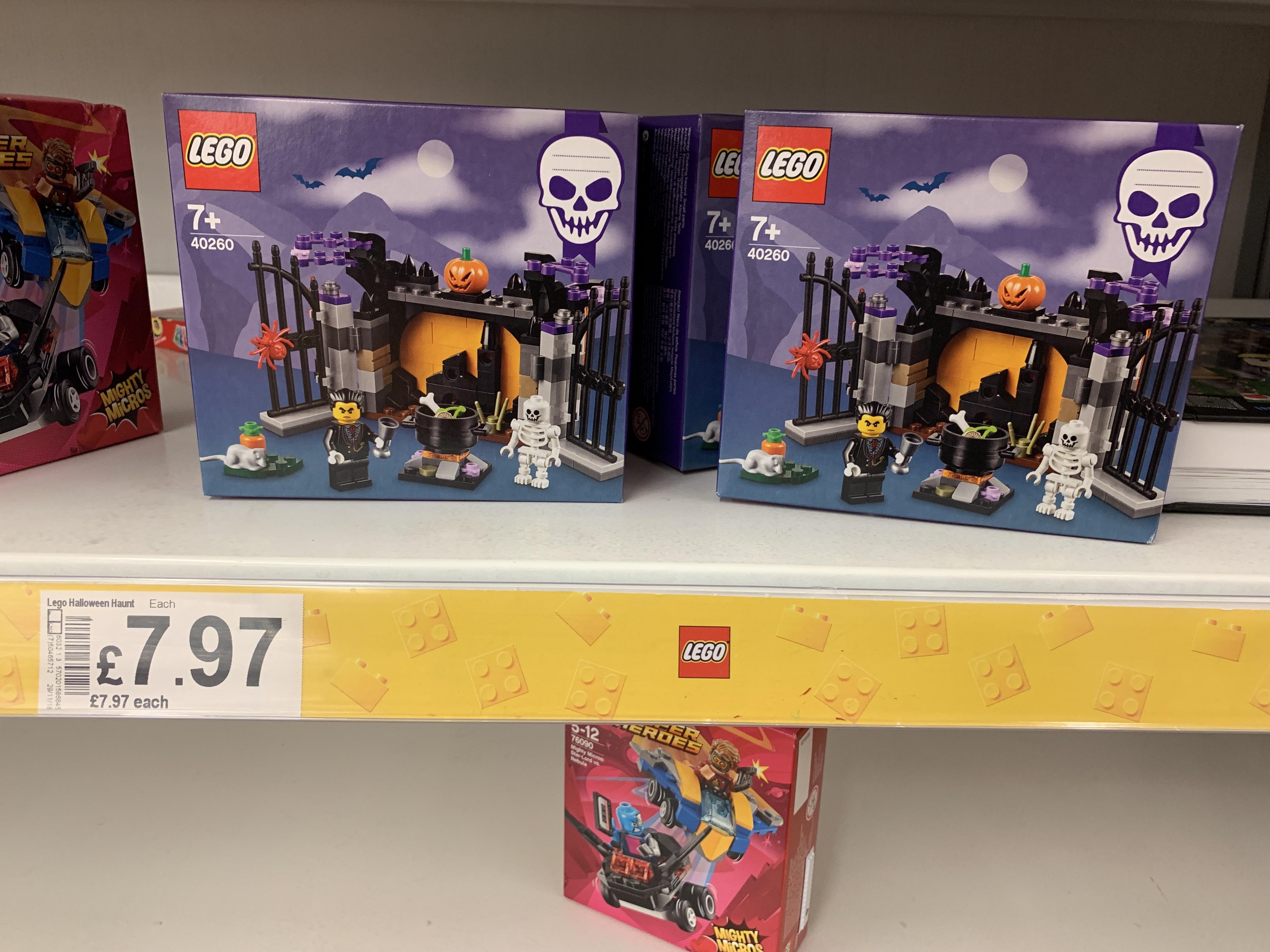 Lego Halloween Haunt 40260 £7.97 @ Asda lakeside