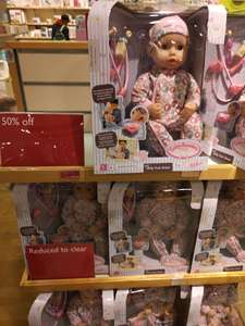 Baby Annabell Milly Feels Better Doll set - £17.50 instore @ John Lewis & Partners
