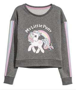 My little pony sweatshirt top £3 delivered @ H&M (members)