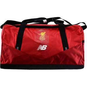 Liverpool FC New Balance Holdall Travel Bag £15.99 @ classic football shirts Updated w/h code