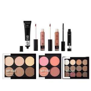 NIP+FAB Exclusive Triple Impact Makeup Kit | Massively Reduced From £72 | Free Delivery | @ Superdrug