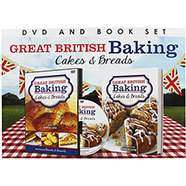 Great British Baking - DVD and Book Gift Set RRP  £14.99 Now £3.00 @ The Works - free c&c