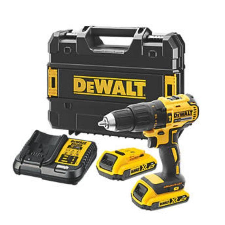 Dewalt dcd778d2t-gb @Screwfix 18v 2.0ah li-ion xr brushless cordless combi drill(268fx) £119.99 @ Screwfix