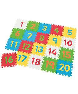 Large foam number playmat 112cm x 140cm was £20 now £10 with free c&c @ ELC