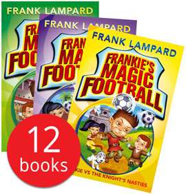 Frankie's Magic Football with Kitbag 12 Books by Frank Lampard £11.04 delivered with codes more in op in Disney & Horrid Henry @ Book People