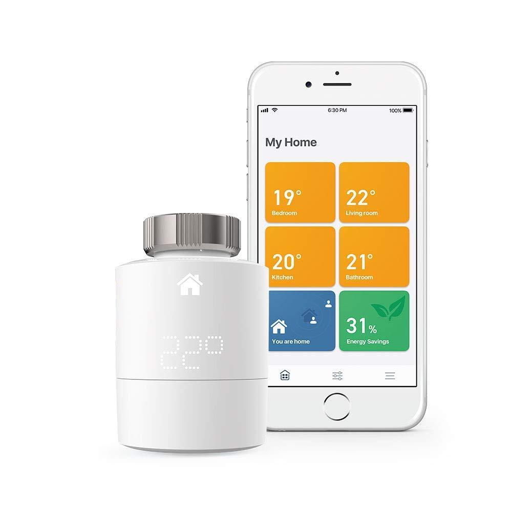 tado° Smart Radiator Thermostat Starter Kit V3+ - Horizontal or Vertical £84.49 @ Amazon