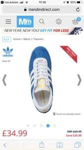 Adidas Beckenbauer reduced from £69.99 to £34.99 plus £4.99 del @ M&MDirect
