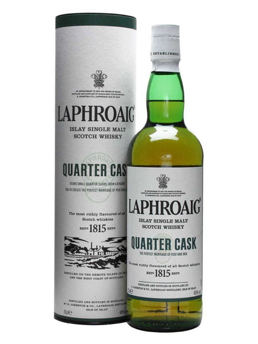 Laphroaig Quarter Cask Single Malt Whisky £28.00 at Amazon