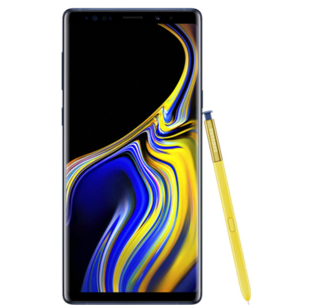 "Grade A Samsung Galaxy Note 9 Ocean Blue 6.4"" 128GB 4G Unlocked & SIM Free £549.97 @ Laptops & Appliances Direct"