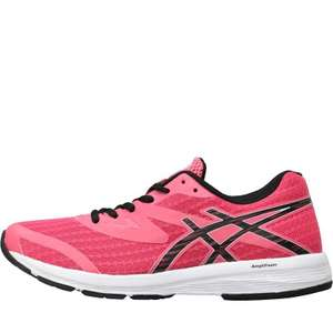 Asics Womens Amplica Neutral Running Shoes Hot Pink/Black/White £29.99 + £4.99 delivery @ MandM Direct