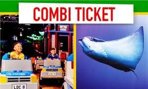 Adult and toddler (5 and under) combi ticket £12 to Sea Life