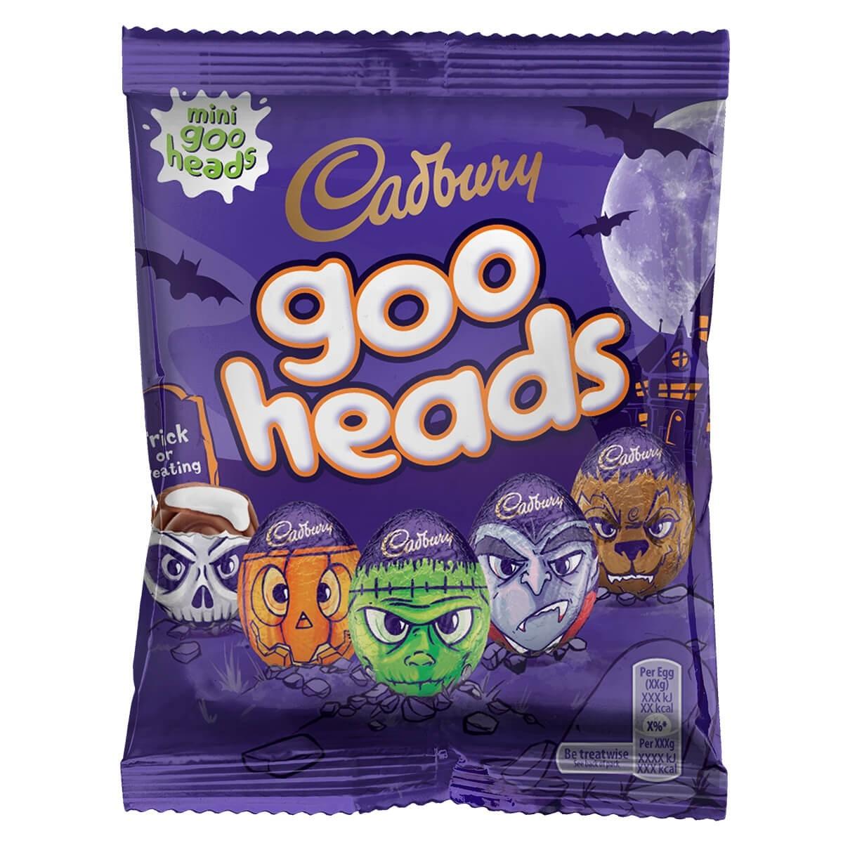 CADBURY GOO HEADS CREME EGGS MINIS 89G 30p + £3.95 delivery @ Cadbury Gifts Direct