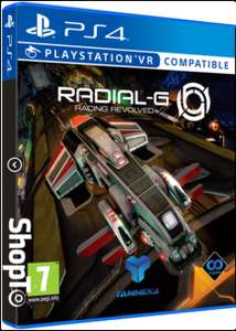 Radial-G: Racing Revolved PSVR compatible for £9.85 Delivered @ Shopto