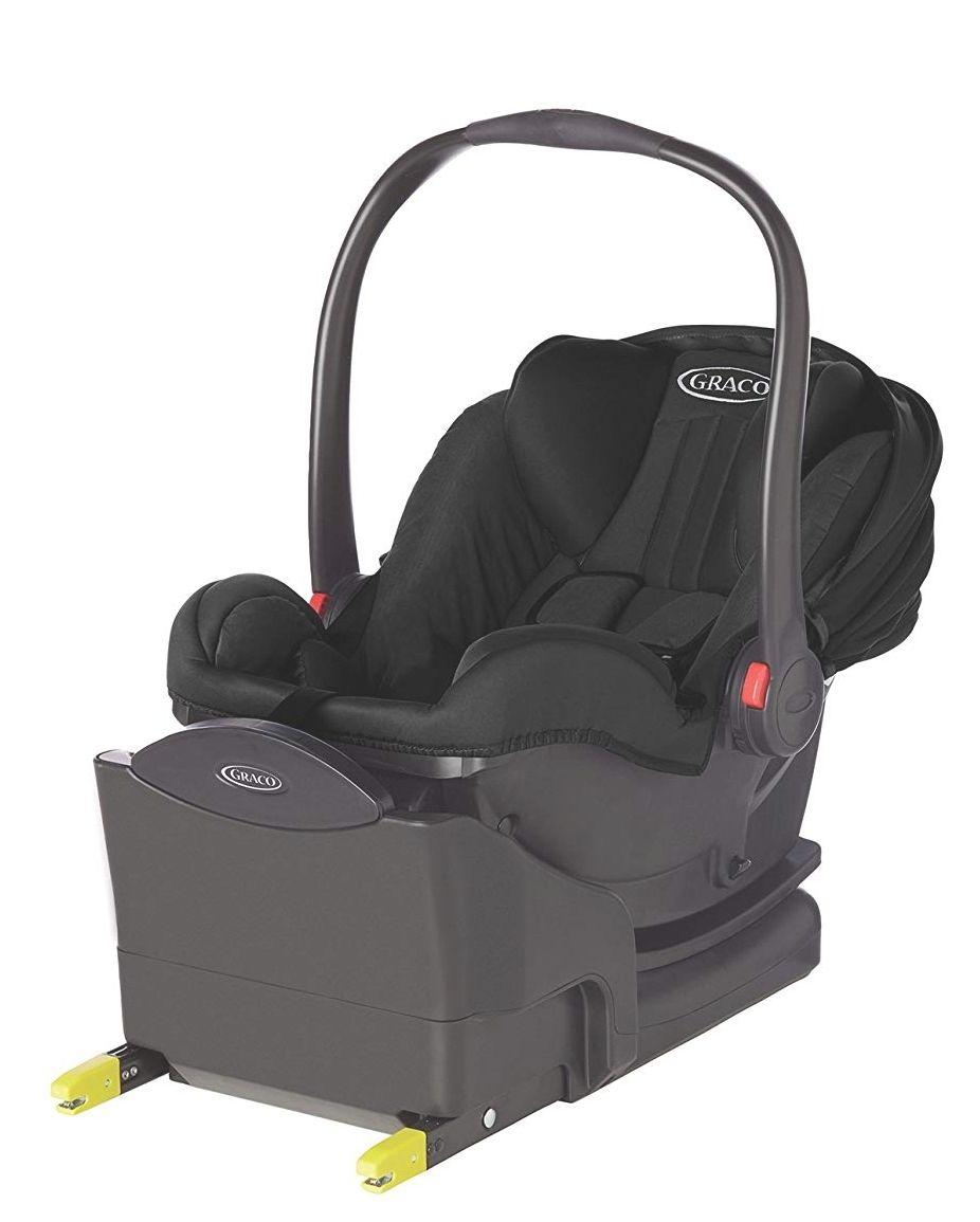 Graco SnugRide i-Size Infant Car Seat including Isofix base (Group 0+) - Midnight Black £69.90 Amazon