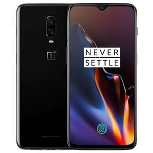 "Oneplus 6T 6.41"" Snapdragon 845 6GB 128GB 16.0MP+20.0MP Android 9.0 In-Display Fingerprint NFC Fast Charge Mirror Black £403 @ Geekbuying"