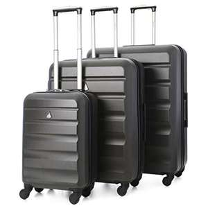 Aerolite ABS325 ABS Hard Shell Luggage Suitcase 3-Piece Set (5 Colours) £61.99 delivered @ Travel Luggage & Cabin Bags