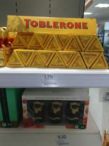 Toblerone 360g  £1.75 in Boots instore
