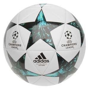 Adidas UEFA Champions League Final 2017 Capitano Football Size 5 £9 Instore @Tesco/Size 3 £7+£4.99 DEL(Could be in-store also)@Sports Direct