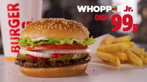 Whopper Jr 99p @ Burger King
