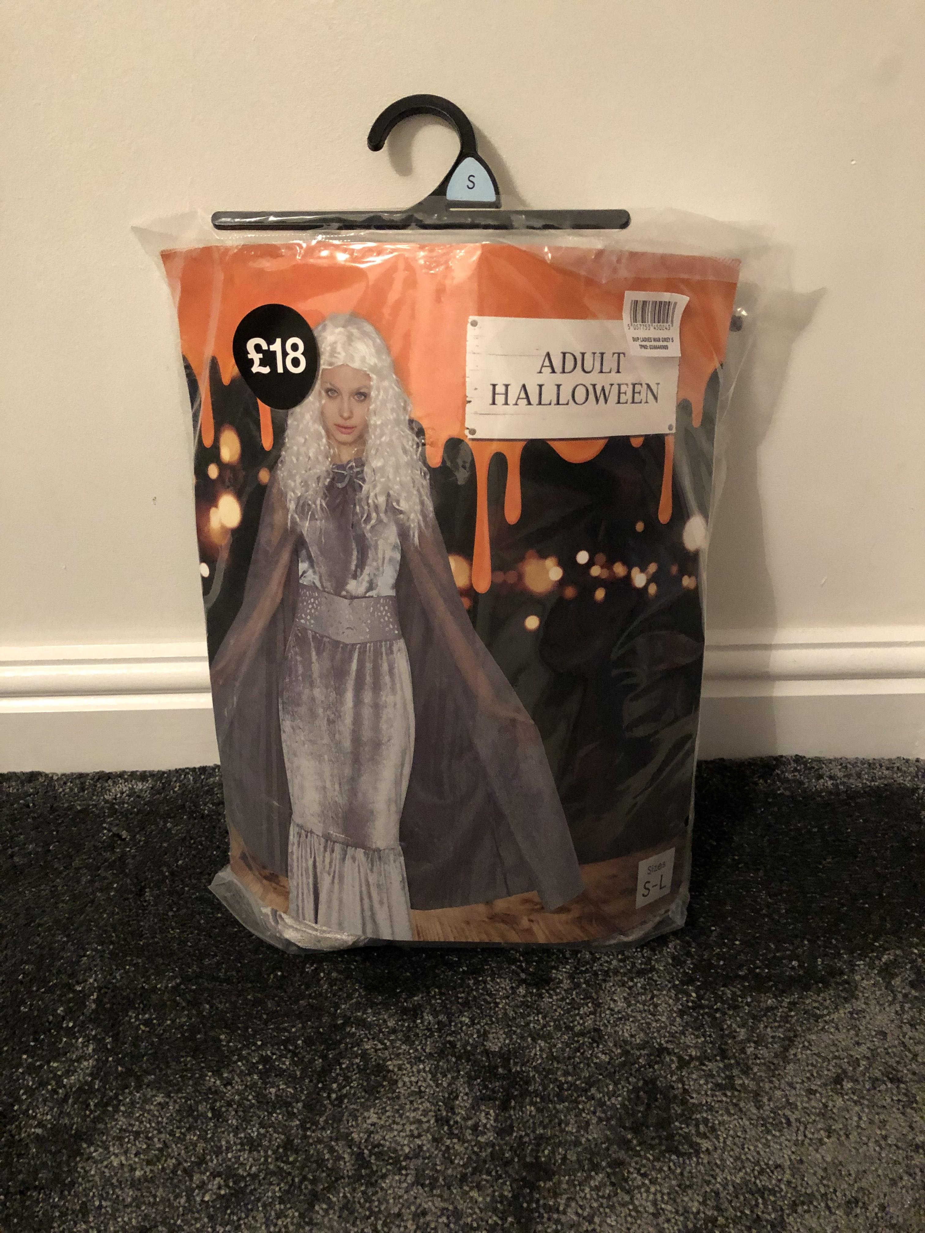 Ladies Halloween costume 4p in Tesco