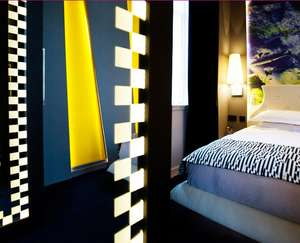 One Night Hotel  Stay + Two course meal + a Cocktail from just £99 (£49.50pp) @ Malmaison