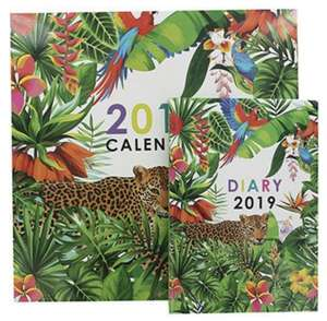 Tropical 2019 Calendar AND Diary Set £1.50 @ The Works