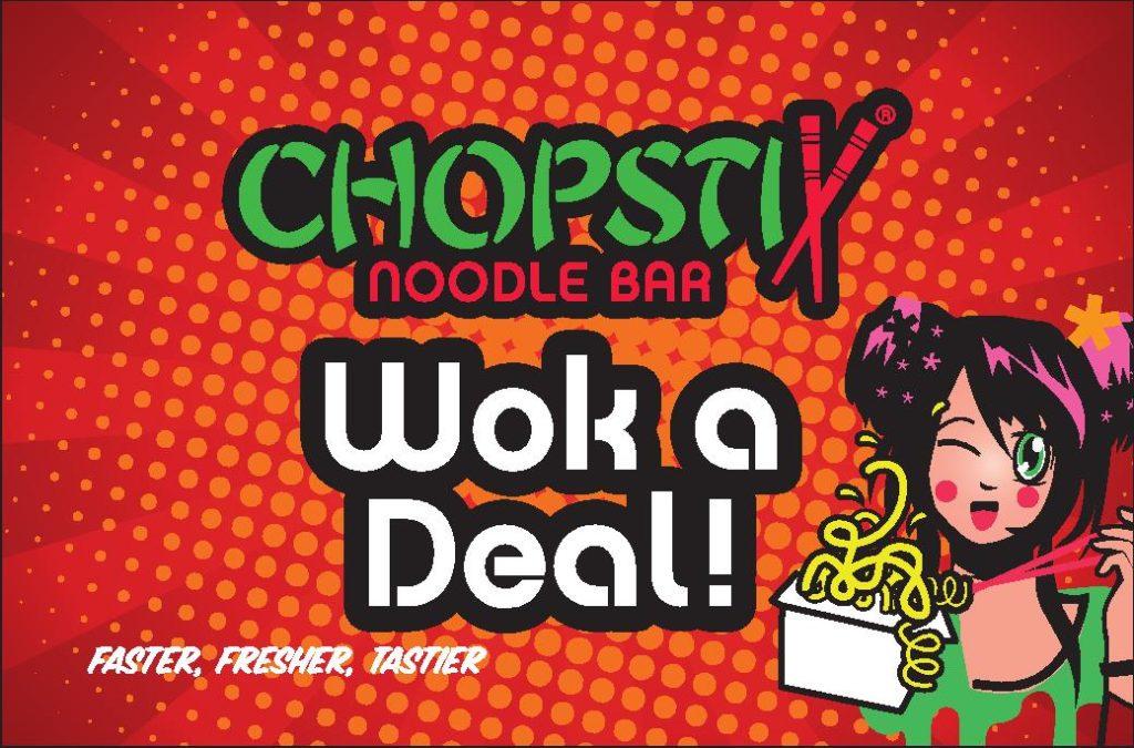 20% Off At ChopStix Noodle Bar Till 3rd March