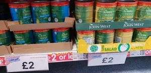 John West Tuna Chunks | 3 Pack | Brine or Sunflower | Managers Special £2 @ B & M Bargains