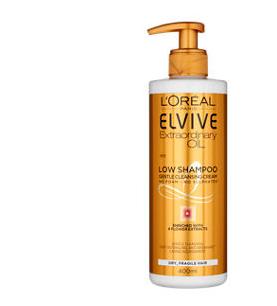 L'Oreal Elvive Extraordinary Oil Dry Hair Low Shampoo 400ml - £5 @ Asda