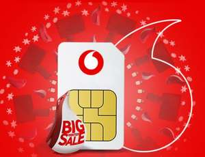 "Vodafone ""Basics"" Sim only deal 8GB data + unlimited mins/text £10 pm 12 months"