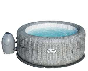 Lay-Z-Spa Honolulu AirJet 4-6 Person Hot Tub - Grey Rattan £350 @ Homebase