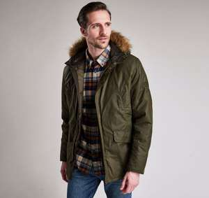 Barbour sub waxed parka £171.39 delivered at repertoire fashion